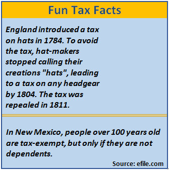 Financial 1 - Fun Tax Facts 2016