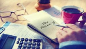 Financial 1 - Tax Planning