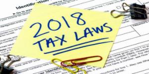 2018 Tax Laws, Financial 1 Tax