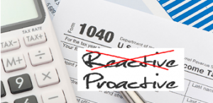 Proactive Tax Planning, Financial 1