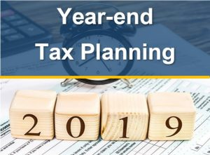 Year End Tax Planning for 2019, 2020
