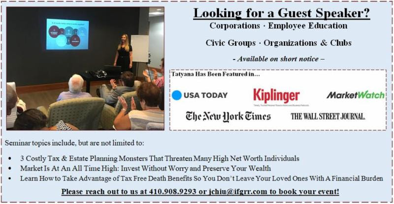 Looking for a Guest Speaker?