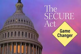 The SECURE Act. Game Changer