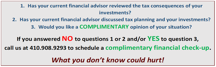 Complementary Check-up, Financial 1 Tax Services