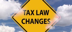 Tax Law Changes, Financial 1 WMG